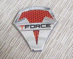 T-FORCE Badge for center cap for 1 T-Force Wheel