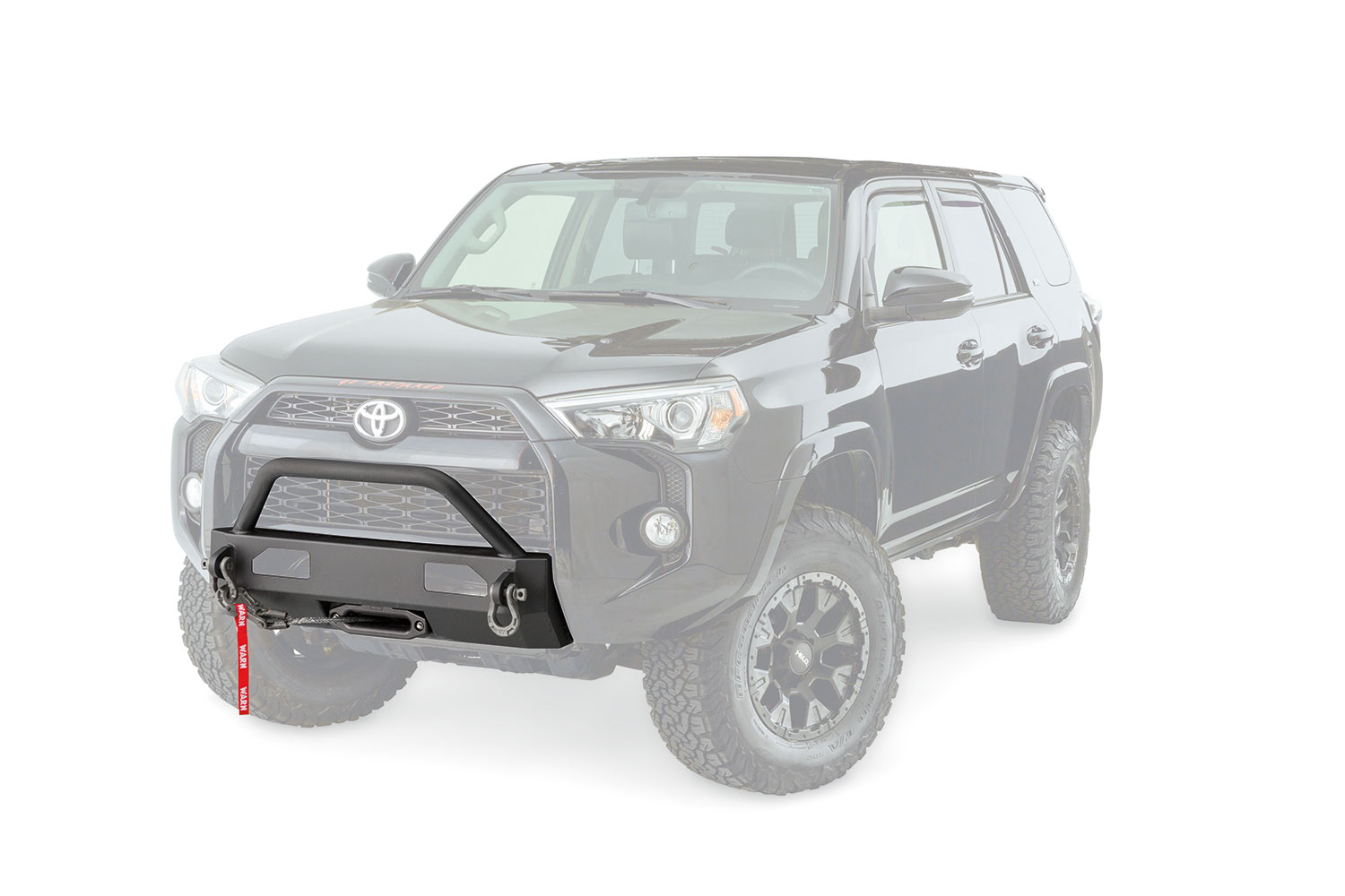 Warn SEMI HIDDEN KIT WINCH MOUNTING SYSTEM 4RUNNER 2014+
