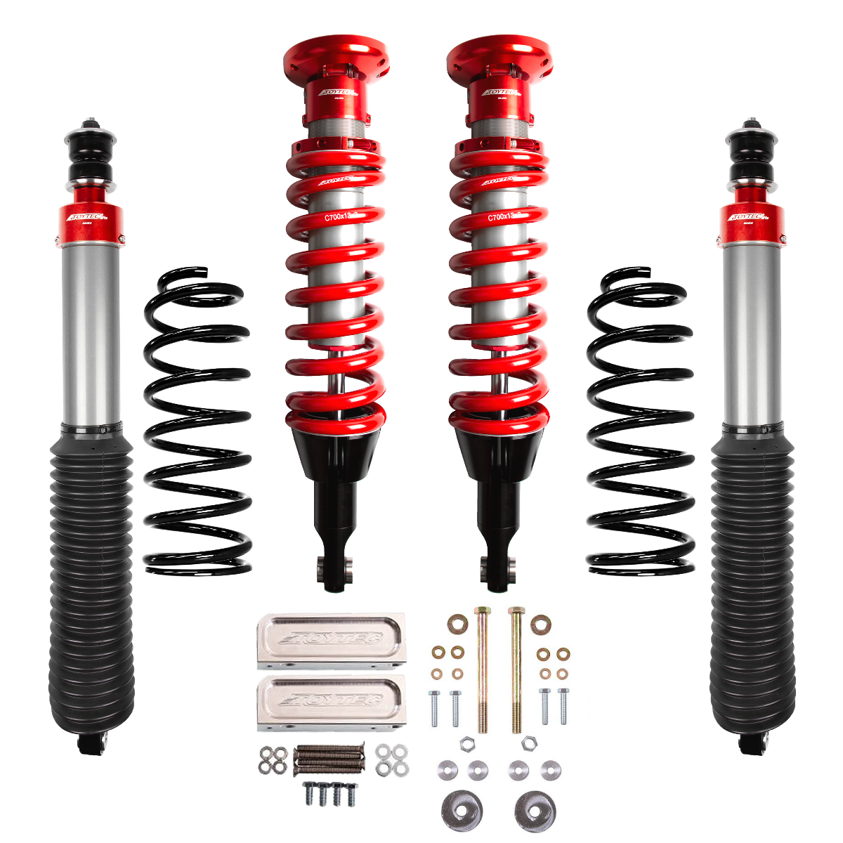Toytec Boss Aluma Series 2.5 Performance Suspension System (10+4Runner)
