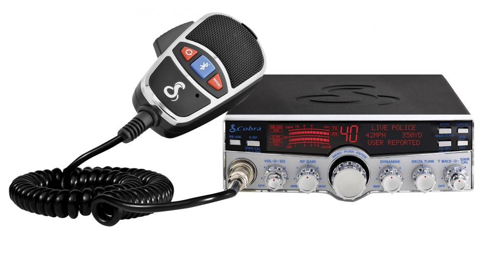 Cobra 29 LX MAX Deluxe CB Radio with Bluetooth and Text