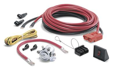 Warn Rear Quick Connect Kit - 20'