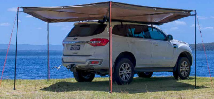 Rhino Rack Batwing Awning - Right Side - Free Shipping