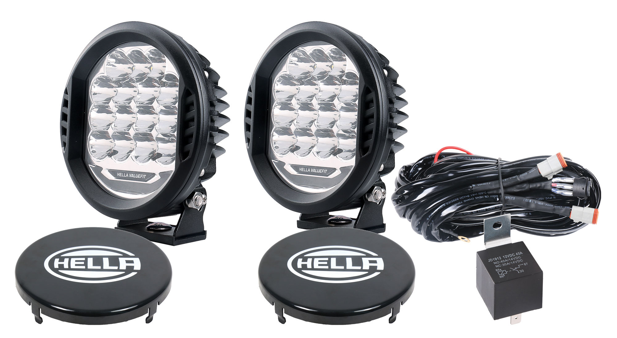 Hella ValueFit 500 LED - Driving Light, Kit