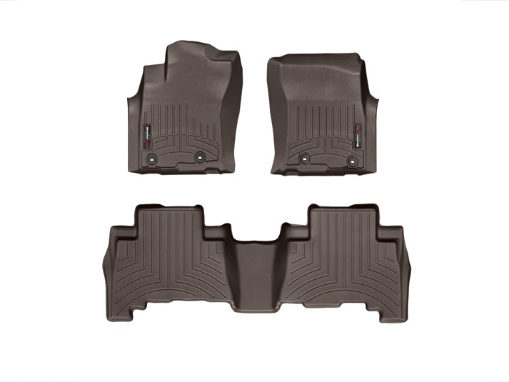 2013-2018 Toyota 4Runner Black Floor Liner - 1st & 2nd Row