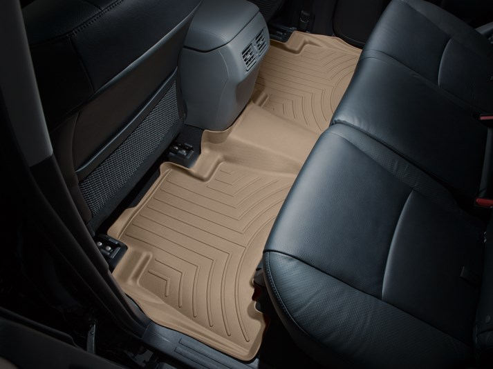 2013-2018 Toyota 4Runner Tan Floor Liner - 2nd Row