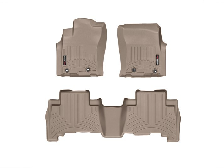 2013-2018 Toyota 4Runner Tan Floor Liner - 1st & 2nd Row