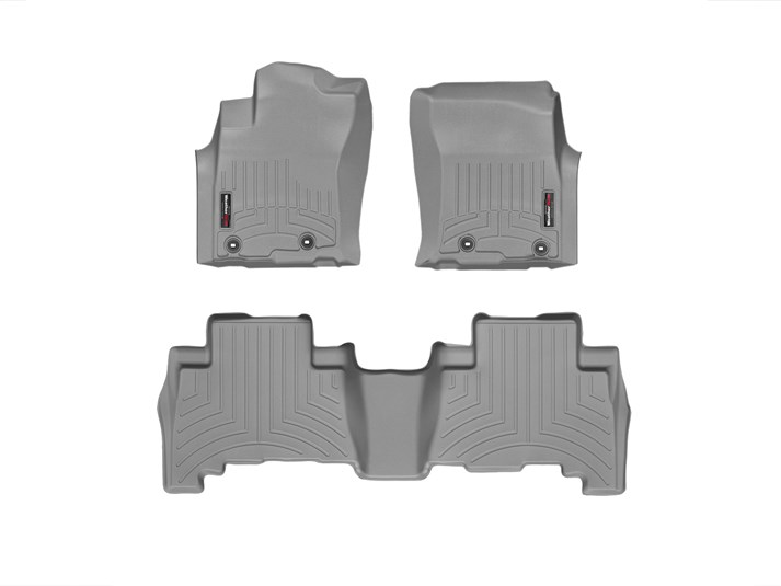 2013-2018 Toyota 4Runner Grey Floor Liner - 1st & 2nd Row