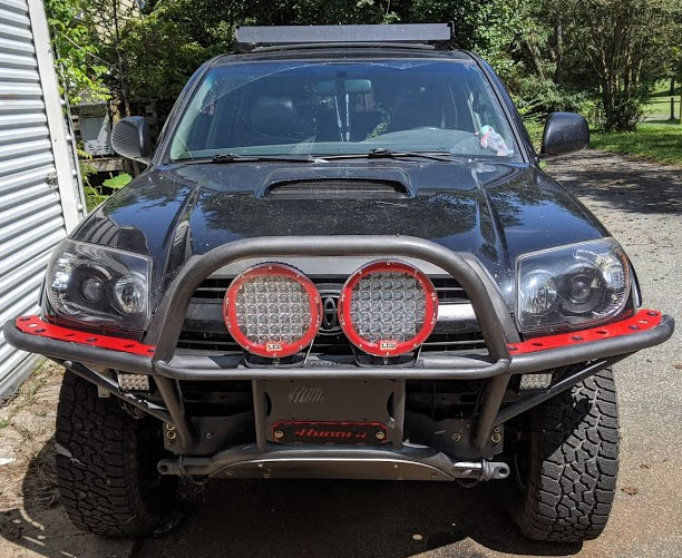 *NEW* - Orange Boxx Gen 4 Tube Bumper; 2003-2009 4Runner