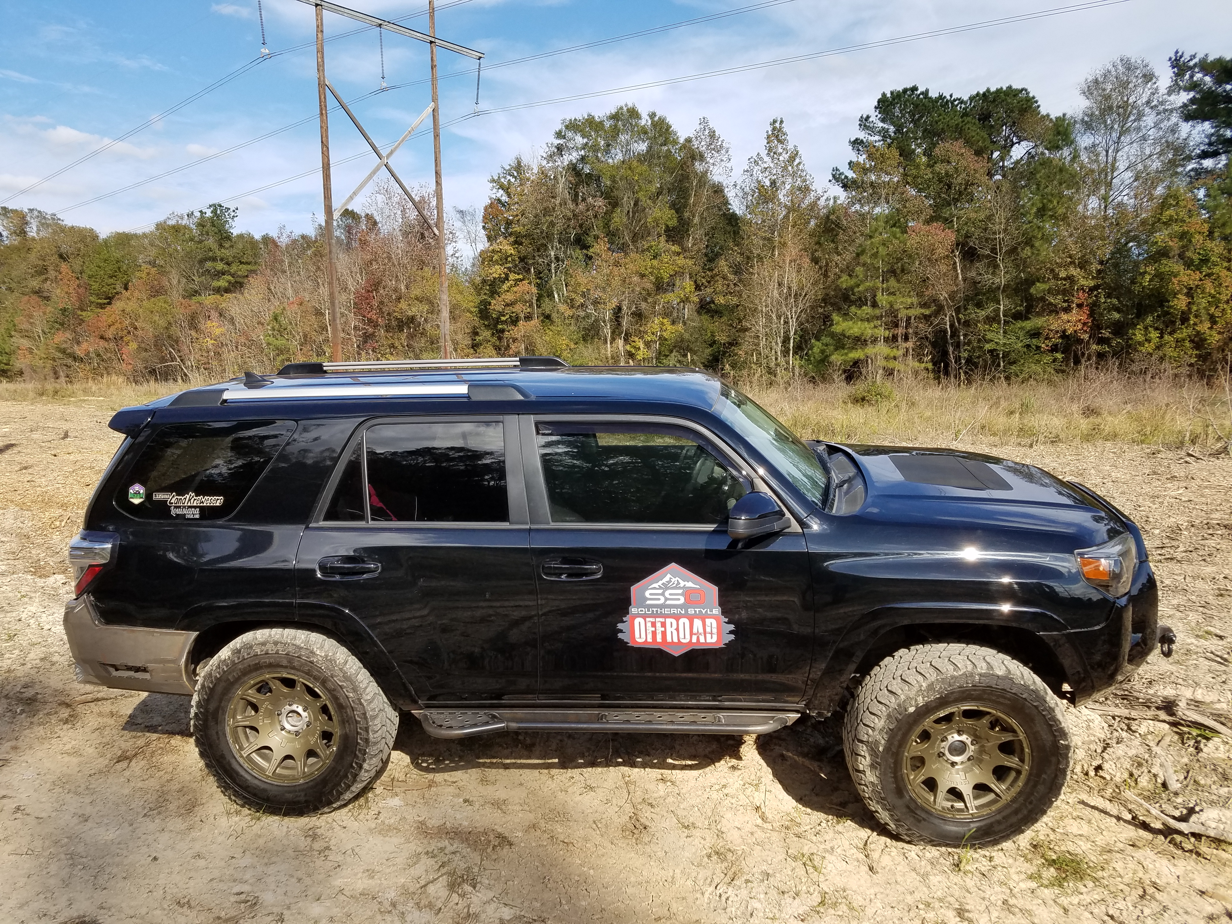 Southern Style 2014+ 4Runner Rock Sliders