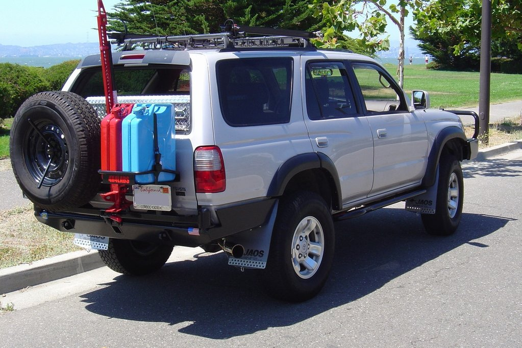 4X4LABS 2ND/3RD GEN 4RUNNER REAR BUMPER