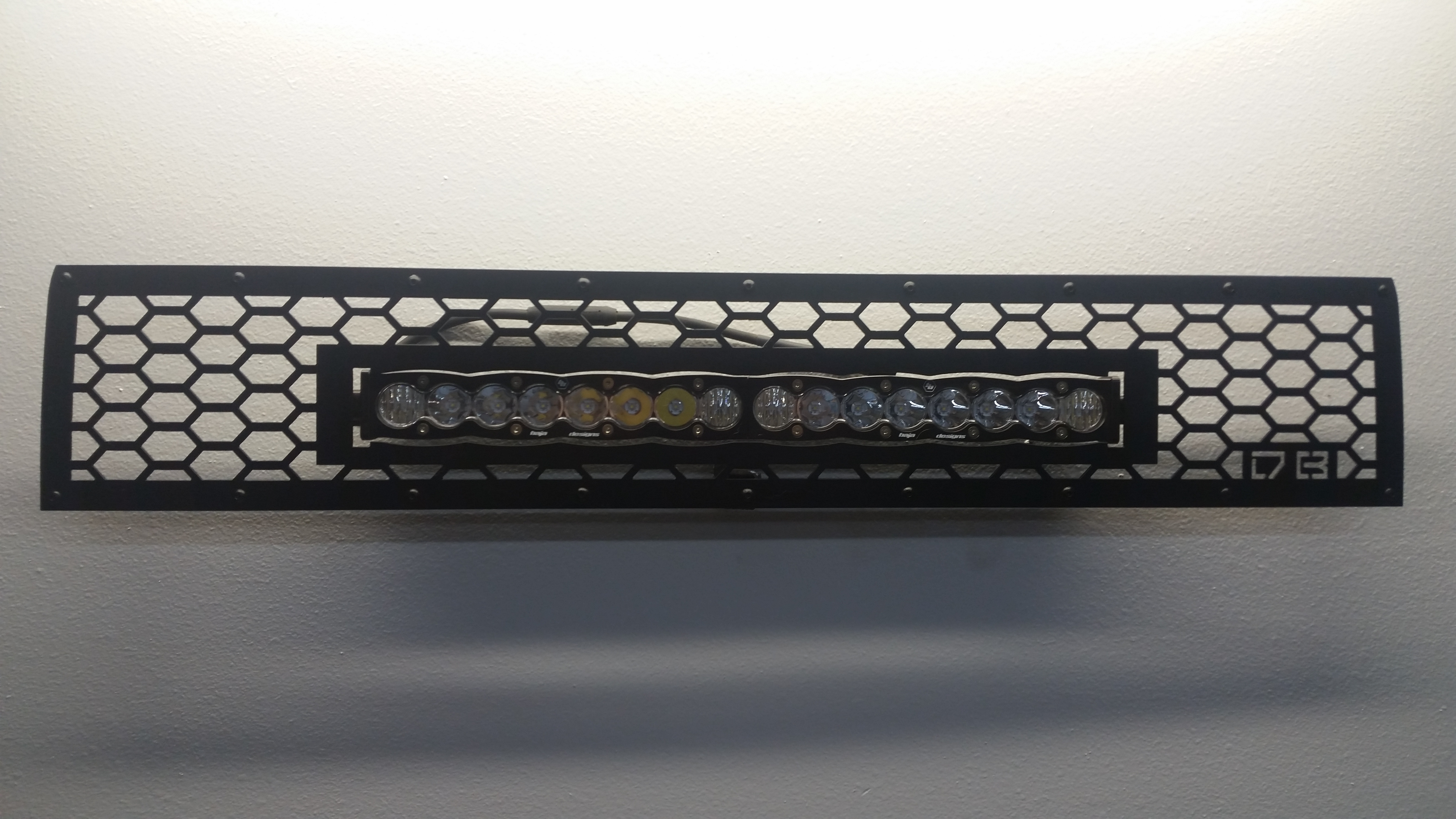 DBC 4Runner Grille w/20″ LED Bar 2014+