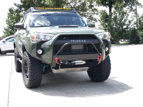 Southern Style 4Runner Slimline Hybrid Front Bumper w/Access HOles 2014+