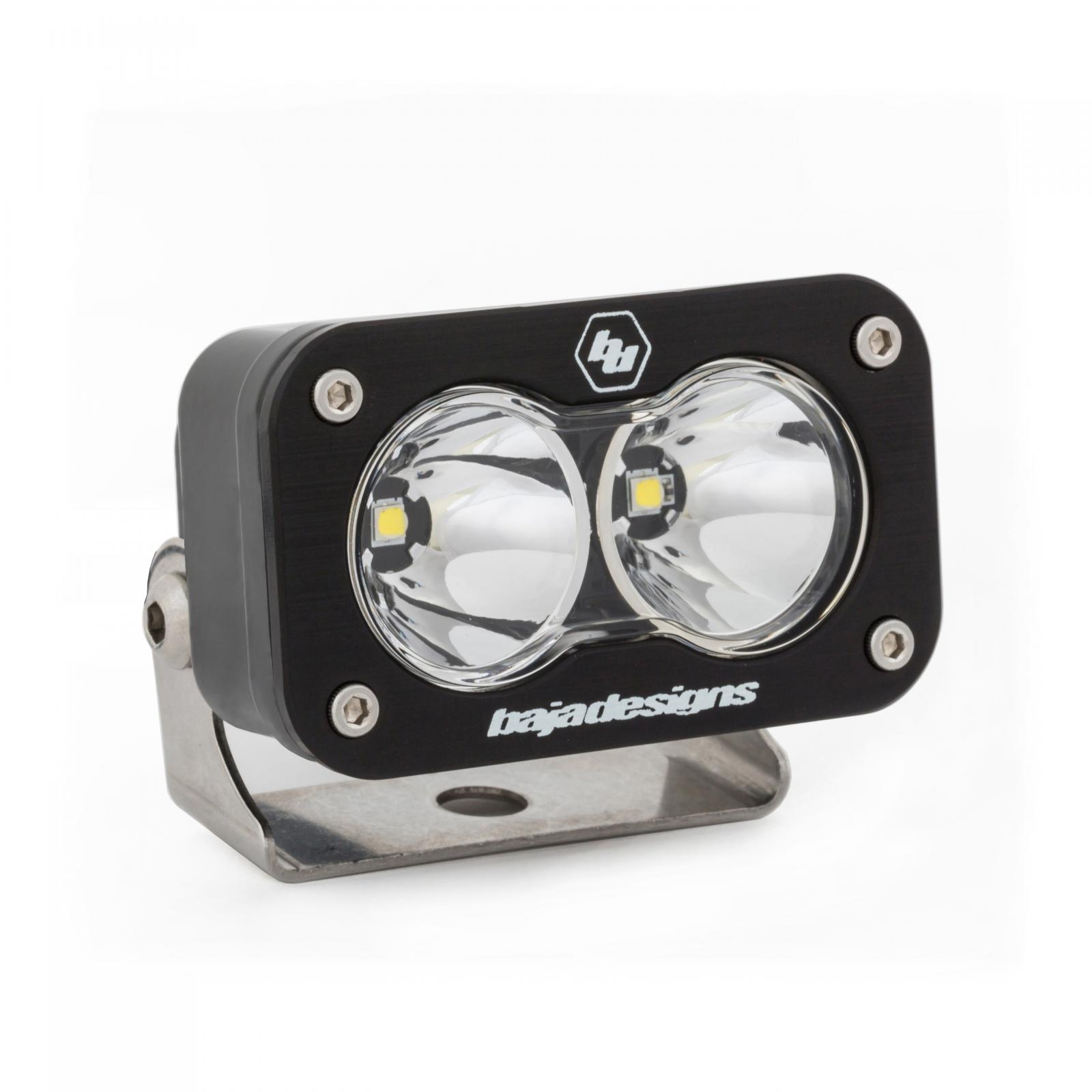 LED Work Light Clear Lens Work/Scene Pattern Each S2 Sport Baja Designs
