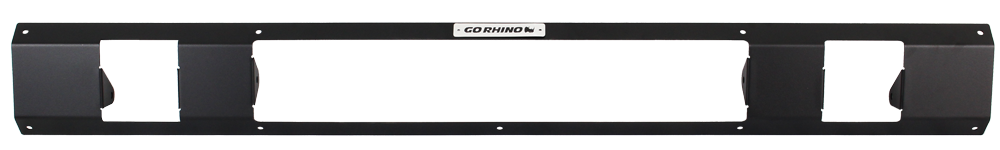 "Go Rhino SRM100 Rear Plate - 20"" Light Bar & Two 3"" Cubes"