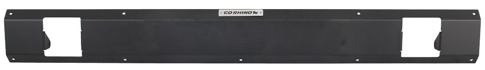 "Go Rhino SRM100 Rear Plate - Two 3"" Cubes"