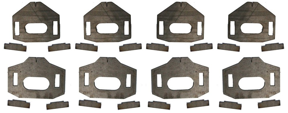 Total Chaos Lower Control Arm Cam Tab Gussets 2010+ 4Runner