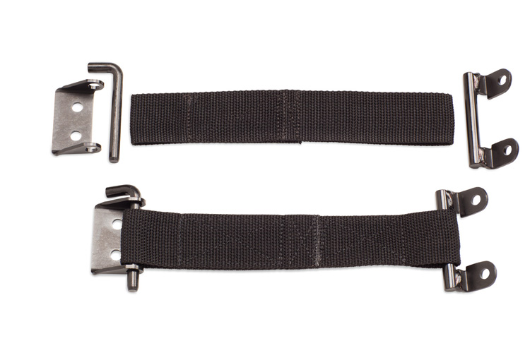 "Warrior Products Universal 1.5"" Door Limiting Strap - Pair"