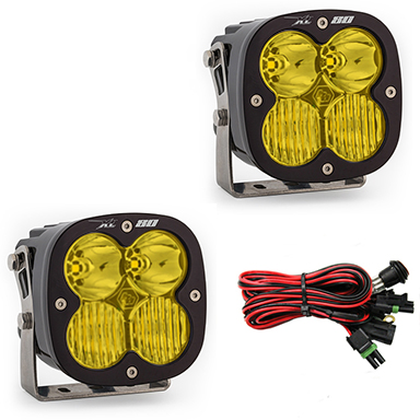 LED Light Pods Amber Lens Driving Combo Pattern Pair XL80 Series Baja Designs