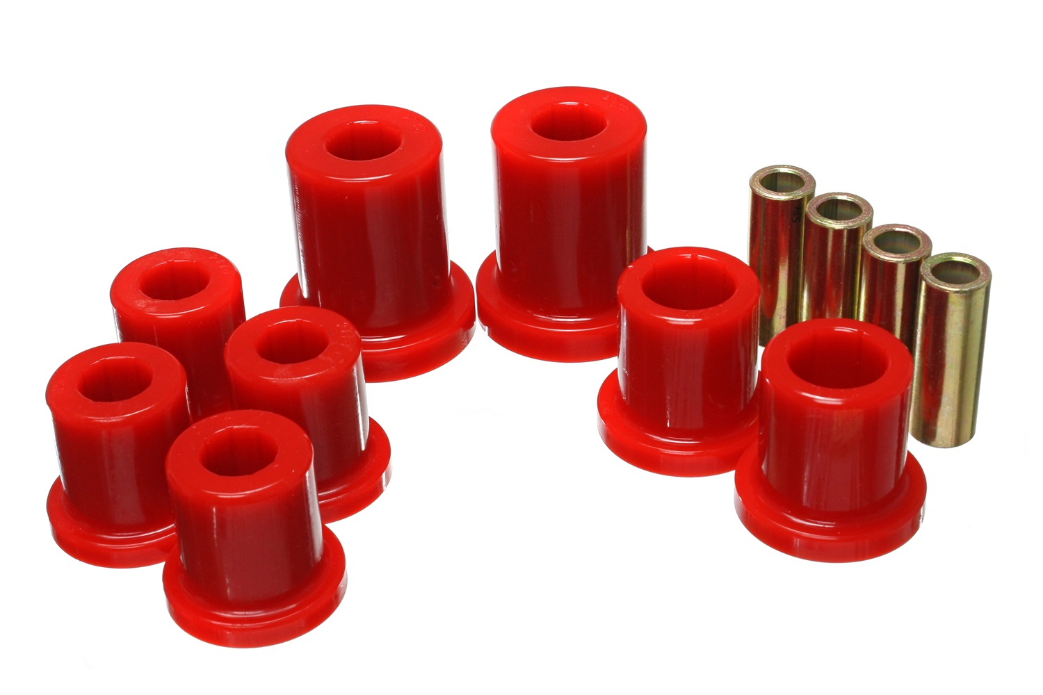 Front Control Arm Bushing Set Red - 03-09