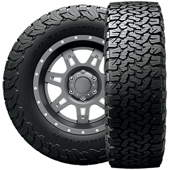 BF Goodrich LT275/70R17 Tire, All-Terrain T/A KM2 - 85924