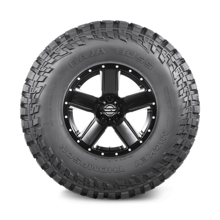 Baja Boss 22.0 Inch 37X13.50R22LT Black Sidewall Light Truck Radial Tire Mickey Thompson