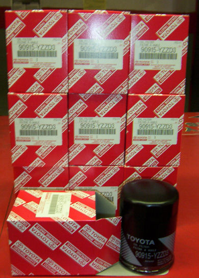 Genuine Toyota 07-09 Oil Filter - 10 pack