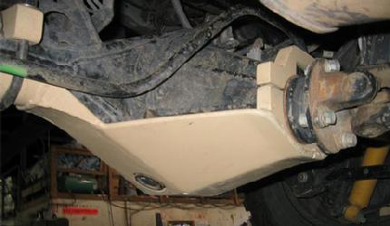 BozTec Rear Diff Skid Plate