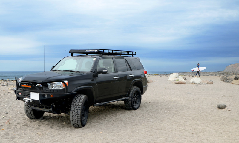 4Runner Gen 5 Standard Basket (long) Rack (without sunroof cutout - mesh floor)