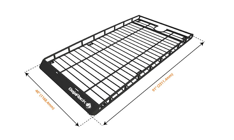4runner gen 5 standard basket  long  rack  without sunroof