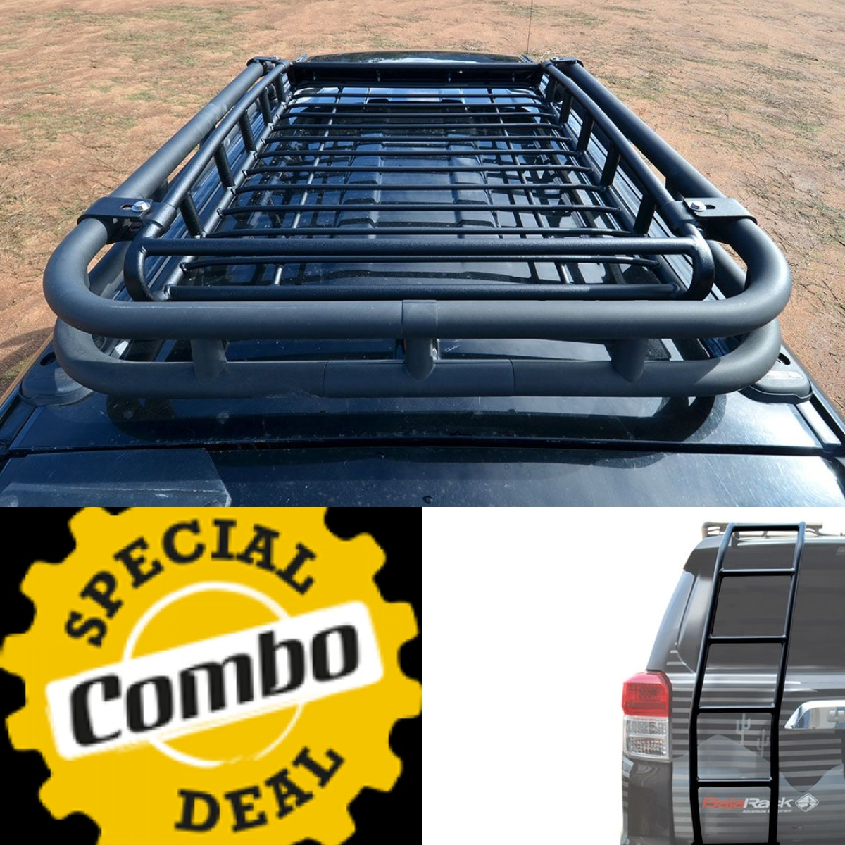 Baja Rack 4Runner Gen 5 TRD PRO OEM Basket Rack & Ladder Combo 2019-2020