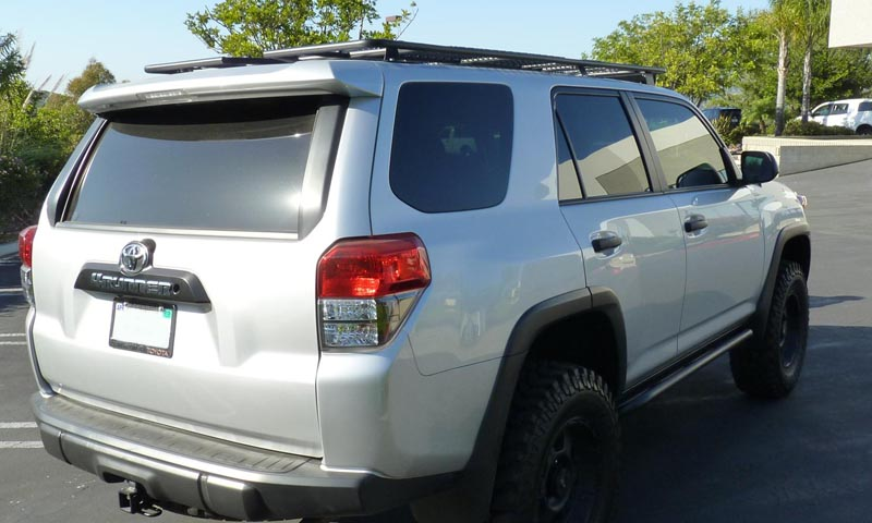 4Runner Gen 5 UTility (flat) Rack (without sunroof cutout - mesh floor) 2010-2018