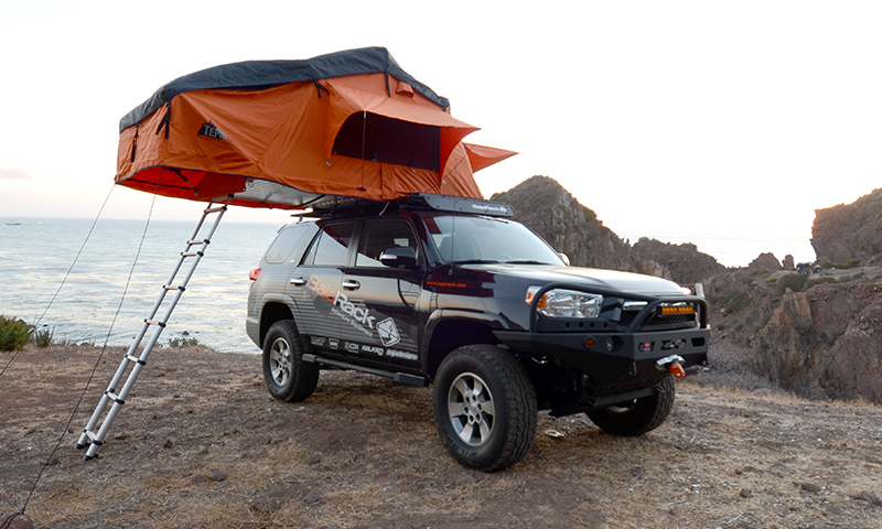 4runner Gen 5 Ut Flat Rack With Spy Light System 2010