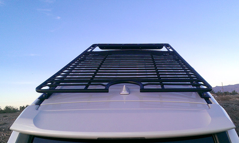 4runner Gen 5 Utility Flat Rack Sunroof Cutout 2010