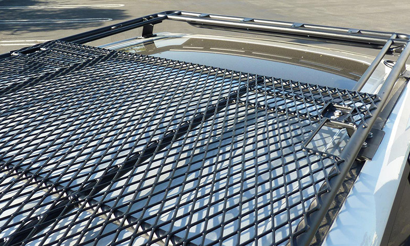 4Runner Gen 5 UTility (flat) Rack (sunroof cutout - mesh floor) 2010-2018