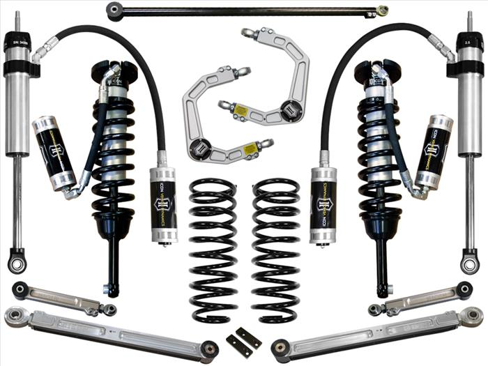 Icon 0-3.5 inch Stage 6 Suspension System w/Billet UCA; 2003-2009 4Runner