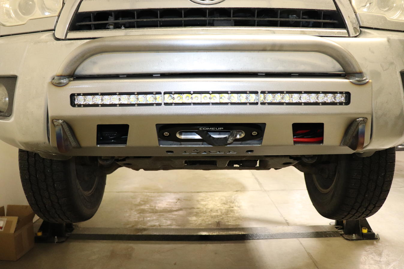 C4 Fab 4Runner Lo-Pro Winch Bumper - 4th Gen (2006-2009)