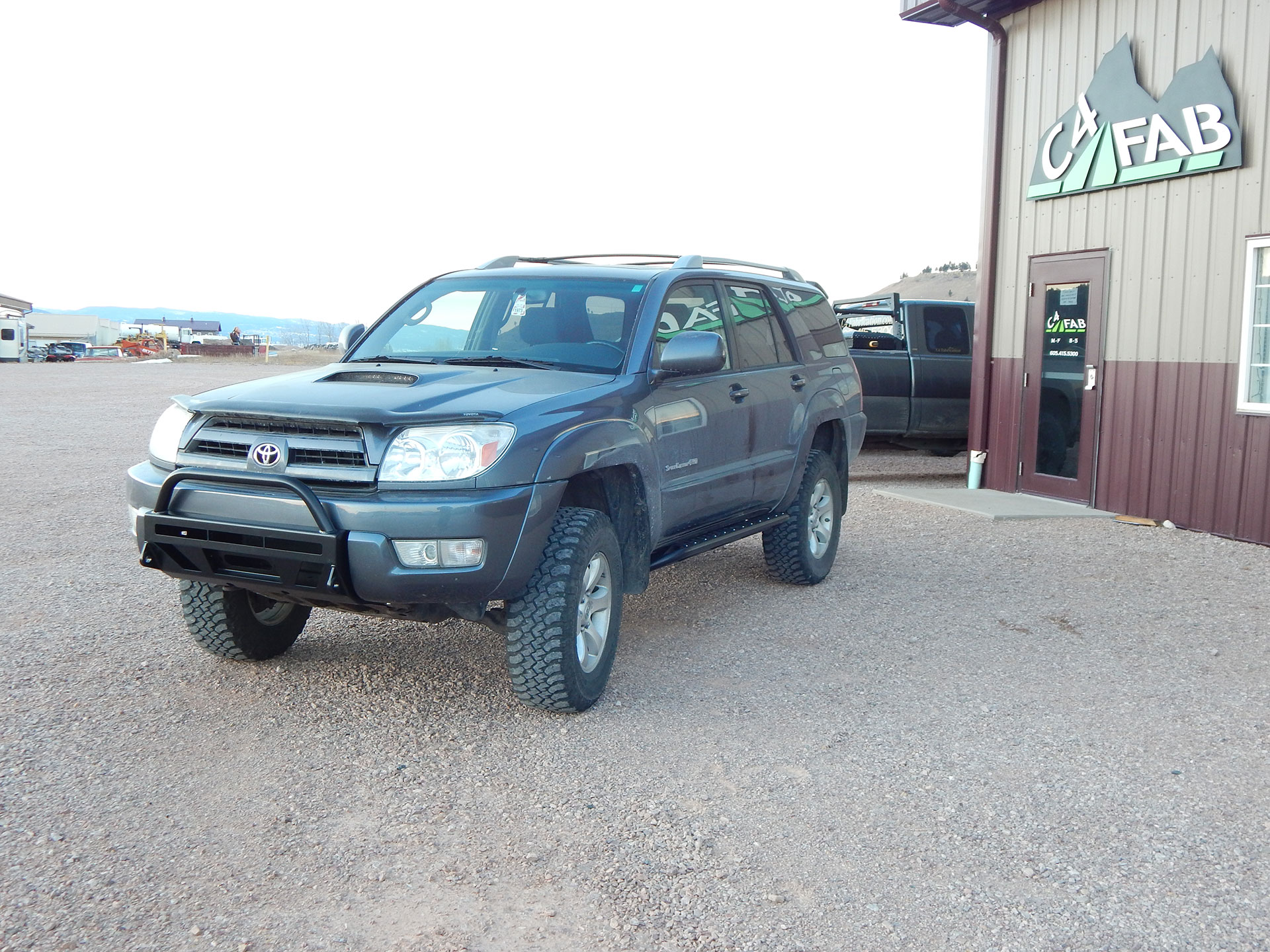 C4 Fab 4Runner Lo-Pro Winch Bumper - 4th Gen (2003-2005)