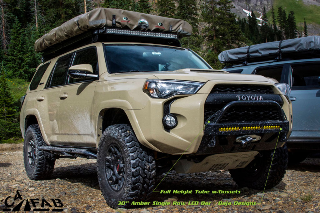 4runner bumper gen c4 winch toyota lo 5th fab fabrication trd replacement lopro tss bar overland bull equipped tahoe complete