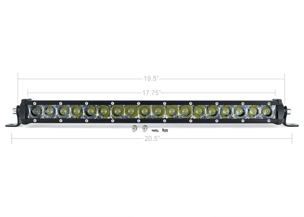 20 in. SLIM SINGLE ROW LED BAR