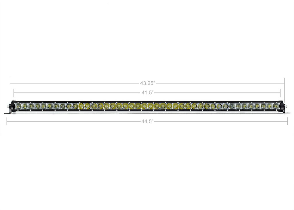 42 in. SLIM SINGLE ROW LED BAR