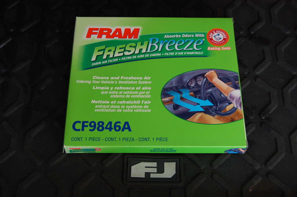 Fram Fresh Breeze FJ Cruiser Cabin Filter 2007-2009