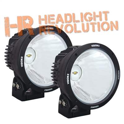 8.7 inch CANNON BLACK 1 90W LED 10º NARROW LIGHT KIT