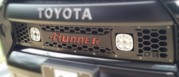 DBC 4Runner LED Cube Lower Grille Insert 2014+