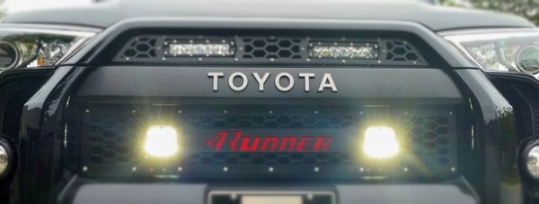 DB Customz 4Runner LED Cube Lower Grille Insert 2014+