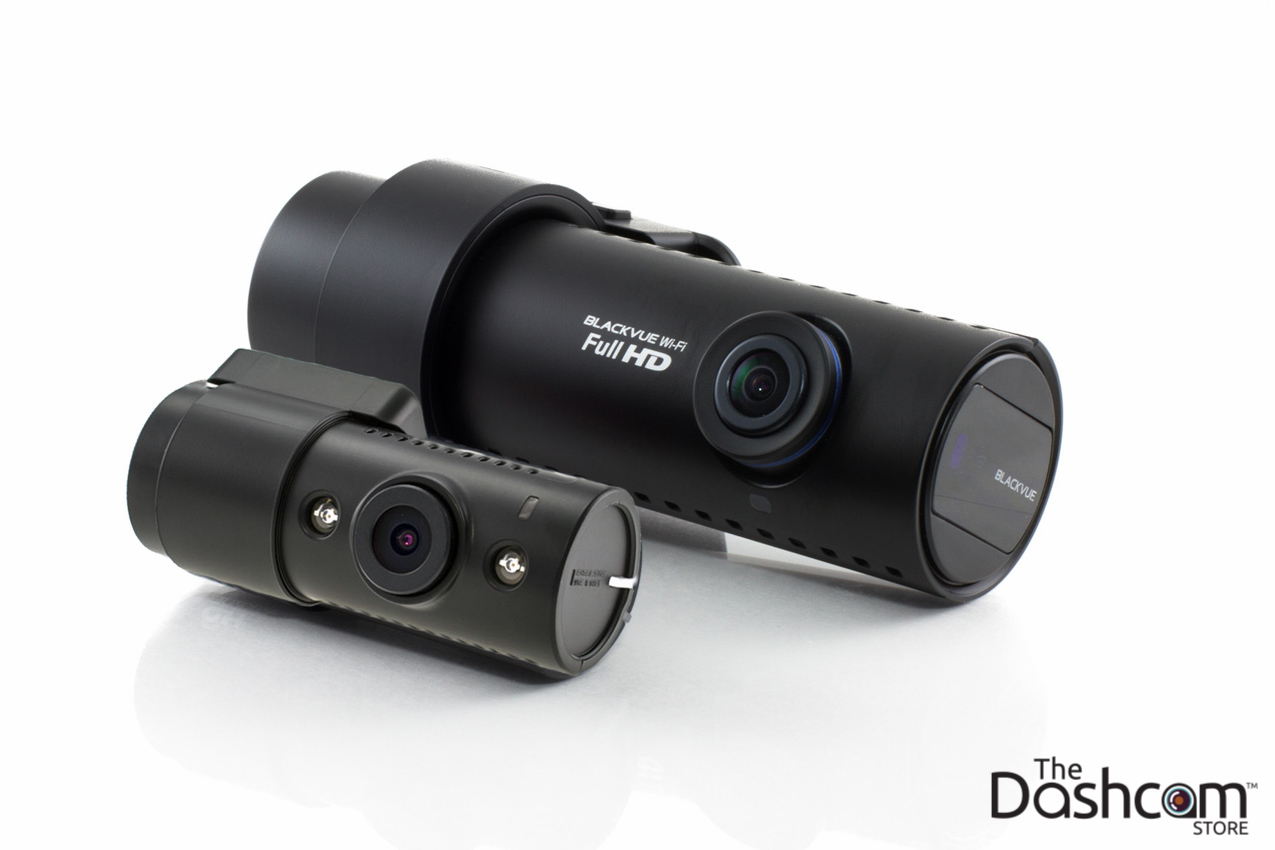 BlackVue 1080p Dual-Lens WiFi GPS Dashcam w/ Infrared Interior Lens