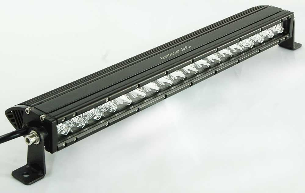 "Pro-Series 2D 50"" Single Row LED Light Bar - 20,000 Lumens - Combo Beam"