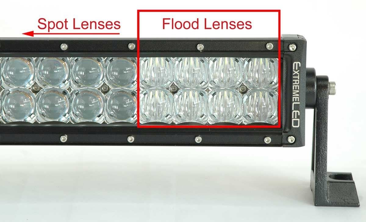 "Extreme Series 5D 8"" CREE LED Light Bar - 2,880 Lumens - Combo Beam"