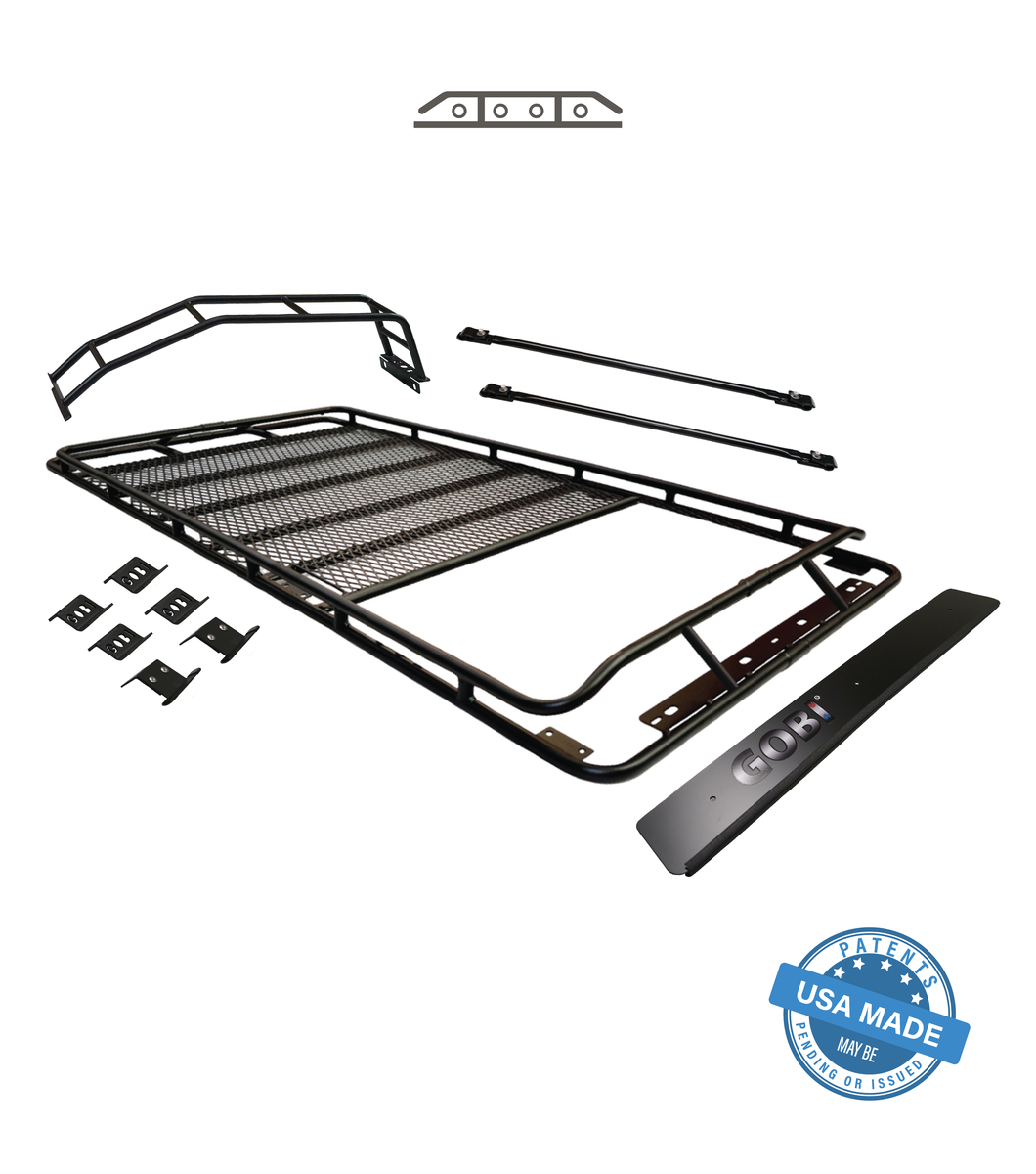 GOBI 5th Gen 4Runner Stealth Rack; Multi-Light Setup; WITH SUNROOF 2010+