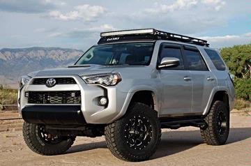 GOBI Toyota 4 Runner 5th Gen Stealth Roof Rack w/ Sun Roof Opening 2010+ (Free Ladder & Shipping)