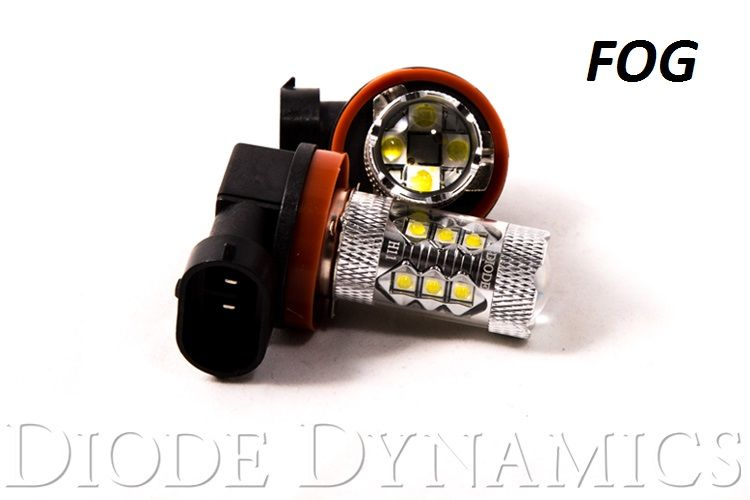 Diode Dynamics Fog Light LEDs for 2010-2019 Toyota 4Runner (pair)